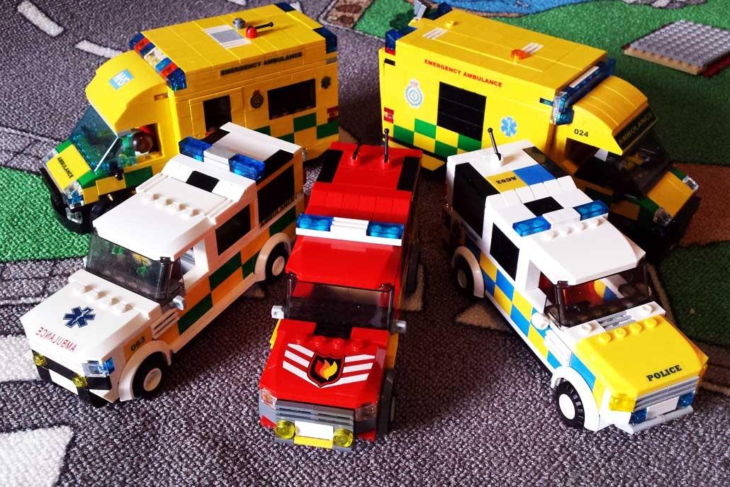 Rescue Bricks | Bespoke LEGO® Emergency Service Vehicles